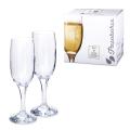 Набор фужеров для шампанского PASABAHCE «Bistro», 6 шт., 190 мл, стекло