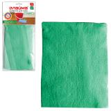 Тряпка для мытья пола ЛАЙМА «Стандарт», 50-60 см, плотная микрофибра, зеленая