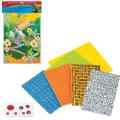 Набор для творчества «Сияющая мозаика» (основа 25-34 см, мозаика из мягкого пластика, декор)