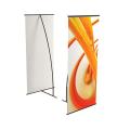 Стенд мобильный для баннера «L-banner А», размер рекламного поля 600-1600 мм, углепластик/алюминий