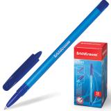 Ручка шариковая ERICH KRAUSE R-101, корпус тонированный синий, 1мм, линия 0,5мм, синяя, 33511