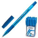 Ручка шариковая масляная PENSAN My-Club, игольчатый узел 0,7мм, линия 0,35мм, резин.упор, синяя,2232