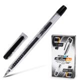 Ручка гелевая PENSAN My-King, корпус прозрачный, игольчатый узел 0,5мм, линия 0,3мм, черная, 2227