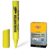 Текстмаркер KOH-I-NOOR, скошенный наконечник 1-5 мм, желтый, 7722060101KSRU