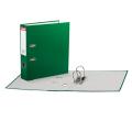 Папка-регистратор ESSELTE Economy, с покрытием из полипропилена, 75 мм, зеленая, 11256P
