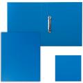 """Папка 2 кольца ESSELTE """"Standard"""", картон/ПВХ, 35 мм, синяя, до 190 листов 14452"""