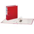 Папка-регистратор LEITZ, механизм 180°, с покрытием из полипропилена, 80 мм, красная, 10101225P