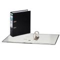 Папка-регистратор LEITZ, механизм 180°, с покрытием из полипропилена, 80 мм, черная, 10101295P