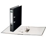Папка-регистратор LEITZ, механизм 180°, с покрытием из полипропилена, 50 мм, черная, 10151295P