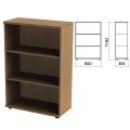 Шкаф (стеллаж) «Этюд», 800-384-1182 мм, 2 полки, дуб онтарио