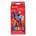 """Карандаши цветные BRAUBERG """"Star Patrol"""", 12 цв., заточенные, картонная упаковка, 180532"""