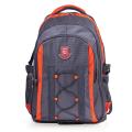 """Рюкзак для школы и офиса BRAUBERG """"SpeedWay 1"""", разм. 46*32*19см, 25 л, ткань, серо-оранжевый,224447"""