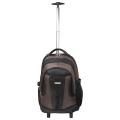 "Рюкзак для школы и офиса BRAUBERG ""Jax 2"", разм. 54*37*23см, 35 л,ткань,на колесах,черно-кор.,224459"