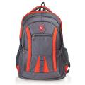 """Рюкзак для школы и офиса BRAUBERG """"SpeedWay 2"""", разм. 46*32*19см, 25 л, ткань, серо-оранжевый,224448"""