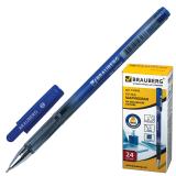 Ручка шариковая масляная BRAUBERG Profi-Oil, корпус с печатью, 0,7мм, линия 0,35мм, синяя, 141632