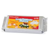 Пластичная масса для моделир. и лепки BRAUBERG отверд., 500г, белая, ВЫСШЕЕ КАЧЕСТВО(Таиланд),224443