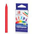 Восковые карандаши ЛУЧ «Классика», 6 цветов, картонная упаковка с европодвесом
