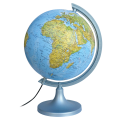 Глобус физический/политический DMB, диаметр 250 мм, с подсветкой (по лицензии ГУП ПКО «Картография»)