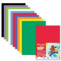 Цветная пористая резина (фоамиран) для творчества А4, толщина 2мм, BRAUBERG 10л. 10цв, радужная
