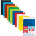 Цветной фетр для творчества А4 210*297мм BRAUBERG 10л.10цв, толщ. 2 мм, 660088