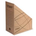 Накопитель документов, стойка STAFF, 150 мм, бурый, до 1400 л.