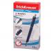 Ручка шариковая ERICH KRAUSE автоматическая «Rapid», корпус синий, узел 0,7 мм, линия 0,35 мм, покрытие «soft touch», синяя
