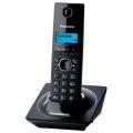 Радиотелефон PANASONIC KX-TG1711RUB, память на 50 номеров, АОН, повтор, часы/будильник (радиус 10-100 м), цвет чёрный