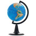 Глобус физический диаметр 120 мм (Россия), 10001