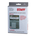 Калькулятор STAFF настольный STF-2512, 12 разрядов, двойное питание, 170х125мм