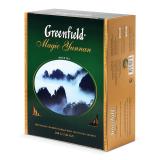 Чай GREENFIELD «Magic Yunnan» («Волшебный Юньнань»), черный, 100 пакетиков в конвертах по 2 г