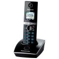 Радиотелефон PANASONIC KX-TG8051RUB, память 50 номеров, АОН, повтор, спикерфон, полифония, 10-100 м, черный