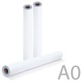 Рулон для плоттера и инженерных машин BRAUBERG (БРАУБЕРГ), А0, 841мм х 175 м х втулка 76 мм х диаметр 170 мм, 80 г/м, CIE 146%